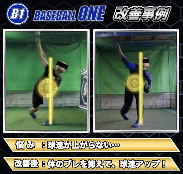 球速アップ